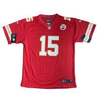 Nike Kansas City Chiefs Red Game Jersey Shirt #15 MAHOMES Womens Youth XL BNWT