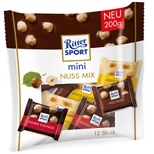 Ritter Sport MINI Nut Mix chocolate mix 200g Made in Germany FREE SHIP