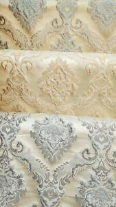 Damask Jacquard brocade in 3 colors