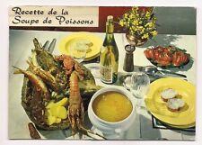 recette de la soupe de poissons    a.e