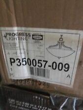 Progress Lighting Laird Collection 2-Light Brushed Nickel Semi-Flush Mount