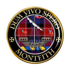 Monteith Scottish Clan Pin Badge