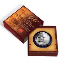 2004 French Settlement Anniversary BU Silver Dollar - Mint in Package w COA