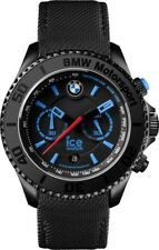Ice-Watch BMW Motorsport Black Dial Mens Chronograph 53 mm Watch
