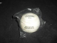 "Cooper Worth 12"" 512 Softball Soft Ball Brand New"
