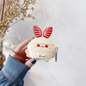 For AirPods Pro 2 1 Case 3D Baby Rabbit Protective Silicone Earphone Cover