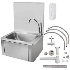 Beeketal Gastro Edelstahl Handwaschbecken Waschbecken Kniebetätigung Waschtisch