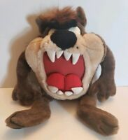Warner Bros Looney Tunes Taz Tasmanian Devil Plush Stuffed Toy 1995 Vintage Ace