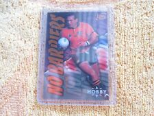 1996 Futera Rugby No Barriers Hobby David Campese NM/M
