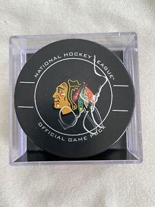 Chicago Blackhawks Doug Jarrett Autograph Official Game Puck