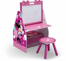 Dry Erase Board White And Stool Storage Bins Art Table Toy Organizer For Kids