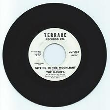 DOO WOP 45 THE G-CLEFS SITTING IN THE MOONLIGHT ON TERRACE VG+ ORIGINAL PROMO