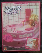 Barbie Beauty Bath Set Sweet Roses Mattel 5156 ~ Barbie 1987