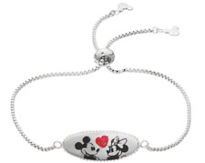 DISNEY MICKEY MINNIE MOUSE THE TRUE LOVE  DISNEY MICKEY FOREVER 90TH BRACELET