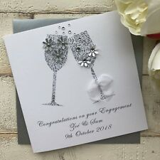 Handmade Personalised Engagement Card