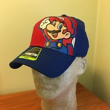 Nintendo Super Mario Bros Jumping Hat Youth Adjustable NOS  NWT Party Favors