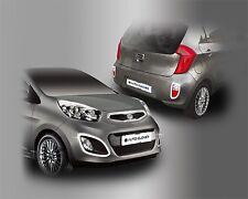 For Kia Picanto 2012 - 2014 Chrome Front and Rear Fog Light Trim Set (4 pcs)