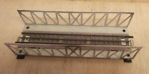 Märklin H0 00 466 Gitterbrücke 3600 durchgehender Mittelleiter 800