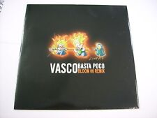 "VASCO ROSSI - BASTA POCO BLOOM 06 REMIX - 12"" VINYL NEW UNPLAYED 2007"