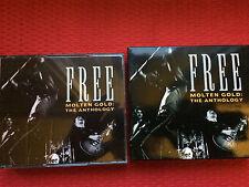 Free, Molten Gold,The Anthology,2 CD,Lim.Erstauflage/Schuber,Germany1993,Toprar!