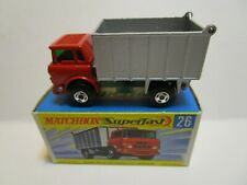 1970 MATCHBOX SUPERFAST GMC TIPPER TRUCK  ***NEW IN BOX***