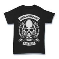 Massacre Chainsaw T Shirt Texas Horror Film Mens Mashup Dtg Inspired S-3XL