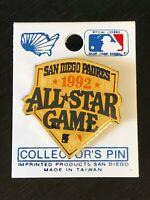 Vintage Collectible San Diego Padres 1992 All Star Game Metal Pinback Lapel Pin