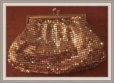 Vintage ~ Gold Mesh Sequin Coin Purse ~ * Brand New *