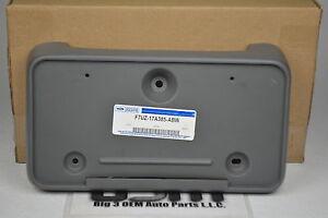 1997-2002 Ford Econoline chrome Front Bumper License Plate Mounting Bracket OEM