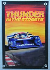 Color Poster Print from BCPix.com 1990 Nissan GTP @ 24 Hours of Daytona