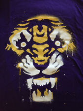 Louisiana State Univ LSU Tigers Large Women's Tailgate+Threadless New T-Shirt