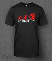 Pokemon T-Shirt Pokemon Evolution MEN'S Nintendo Charmander Charmeleon Charizard