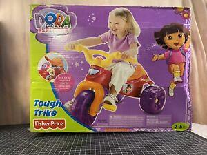 Dora The Explorer Fisher-Price Nickelodeon Tough Trike Kid's Ride On Tricycle