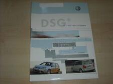 56893) VW Golf V - Touran - TDI + DSG Pressemappe 04/2004