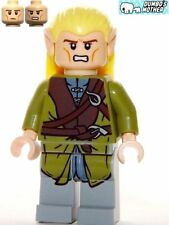 LEGO Legolas Elf 2-Sided Head 9473 Mines of Moria Lord of the Rings New
