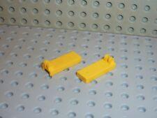 2 x LEGO Yellow Hinge Tile 4531 Set 6532 6764 8431 1525 8438 8460 8872 6361 6662
