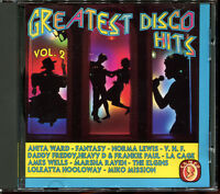 GREATEST DISCO HITS - CD COMPILATION 11 TITRES [2107]