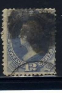 O41 Navy  12 cent Official Stamp used