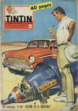 TINTIN 572 BE+ 1959  AUTO BORGWARD 1200