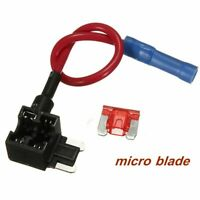 15A 12V Add A Circuit Fuse Tap Micro Blade Boxes Holder Adaptor Car ATM ATO ATC