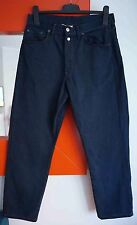 REPLAY 901 REGULAR Men's Dark Blue Button Fly Denim Pants Jeans Made in Italy