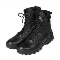 Men Military Tactical Ankle Boots Cordura Combat Army Hiking Outdoor Shoes