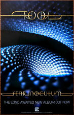 TOOL Fear Inoculum 2019 Ltd Ed New RARE Poster +FREE Band Sticker & Metal Poster