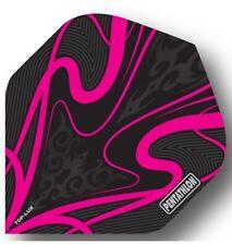 Pentathlon Extra Strong TDP LUX Dart Flights - Black Pink