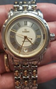 Gevril Automatic Stainless Steel, 18k Gold Watch, The Gents Series, Model A0111