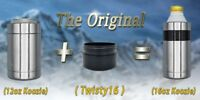 YETI Adapter Extension - Twisty16 - 12oz to a 16oz Colster - Twist Top Cans