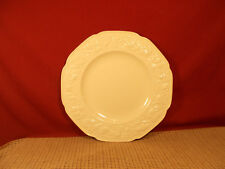 """Crown Ducal China Florentine Off White Dinner Plate 10 1/2"""""""