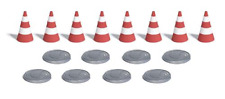 Busch 7788 Traffic Cones & Hole Covers OO / HO Gauge