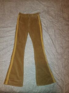 Flared cords Womens high waisted size M