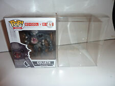 1 x 6'' funko pop vinly box protector display case thick  0.5mm pet acid free